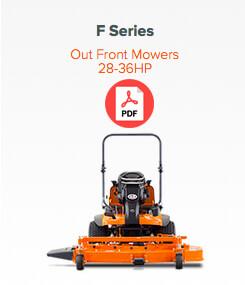 f series mower
