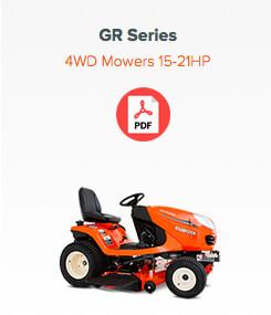 gr series mower