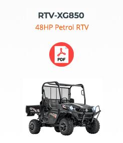 rtv xg850