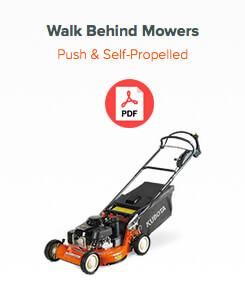 walk behind mower